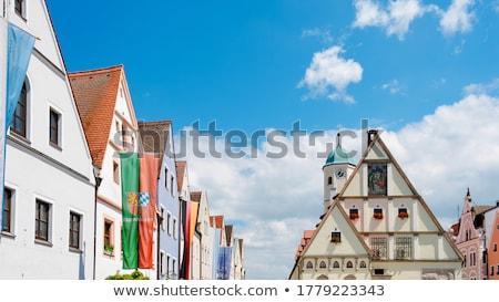 Salon Almanya ana kare mimari Stok fotoğraf © borisb17