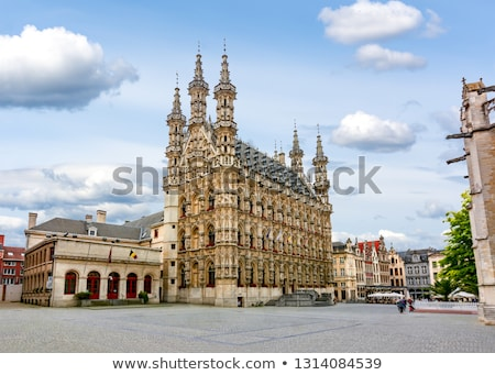 Leuven Town Hall, Belgium Stock photo © borisb17