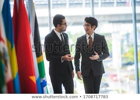 Diplomatic Relations Stock photo © kentoh