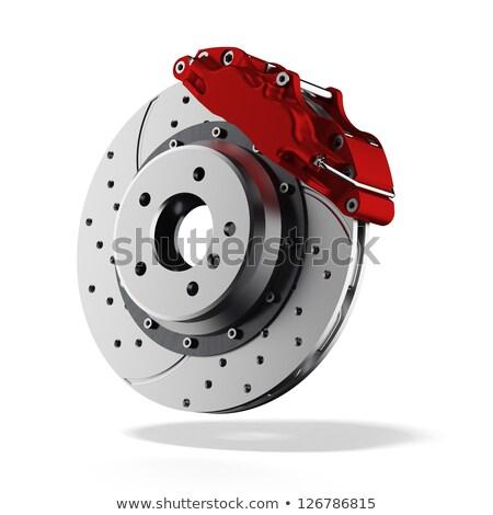 автомобиль диска тормоз автомобилей колесо икона Сток-фото © gomixer