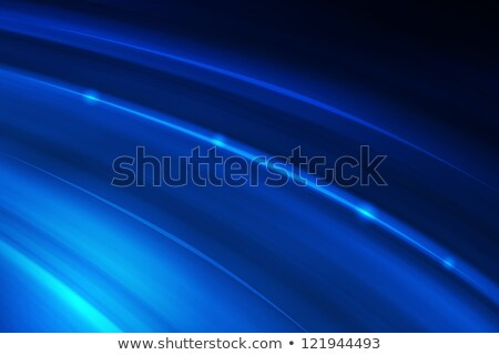 linear blue dynamic motion stock photo © artida