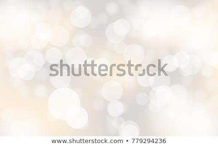 Silver Bokeh lights background Stock photo © kjpargeter