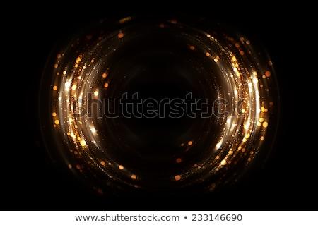 Soyut ışıklar ışık karanlık kahverengi Stok fotoğraf © vlad_podkhlebnik