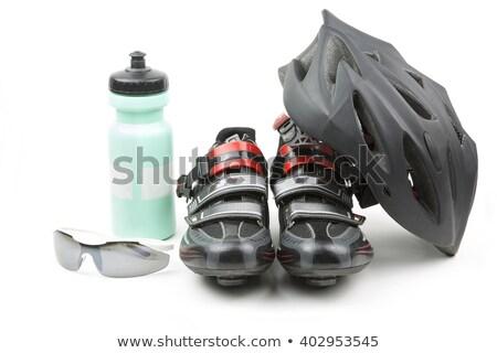 Bicikli sebességváltó hátsó kerék viselet fogaskerekek Stock fotó © bobhackett