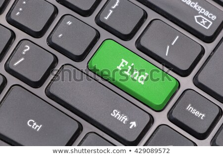 word discover on computer keyboard key Stock photo © fotoscool