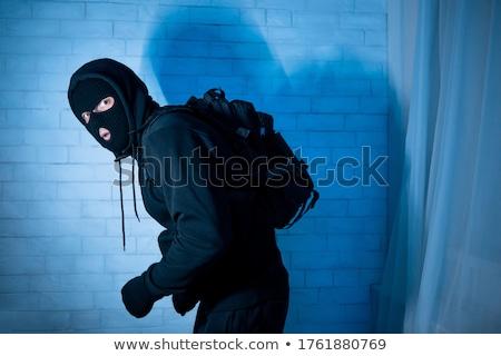 Kötü ceza adam siyah askeri Stok fotoğraf © ctacik