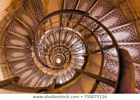 old spiral staircase Stock photo © ultrapro
