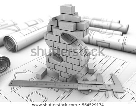Stock fotó: Dollár · egy · érme · izolált · fehér · vágási · körvonal