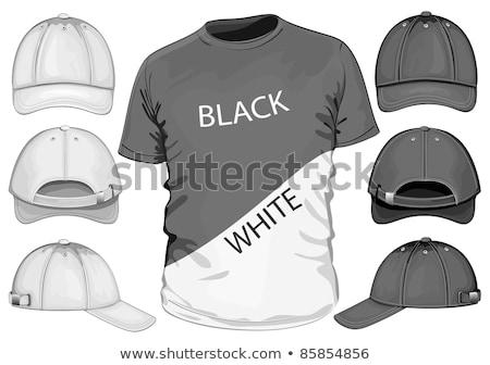 Black Satin - Baseball Player Stock photo © cteconsulting