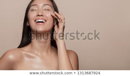 asian · vrouw · gezicht · huid - stockfoto © szefei