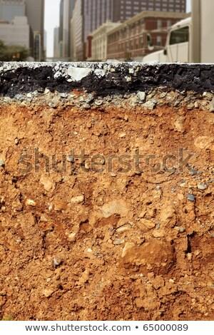 道路 · アスファルト · テクスチャ · 建設 · クロス - ストックフォト © lunamarina