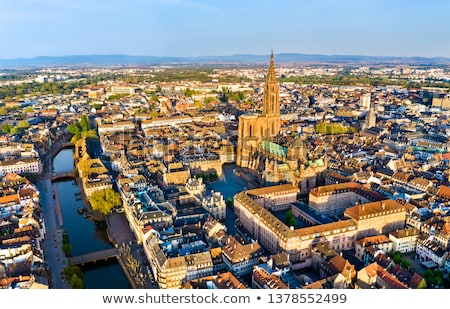 strasbourg skyline Stock photo © compuinfoto