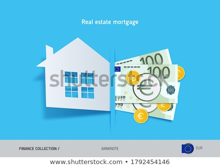 huis · financiering · top · euro · 50s - stockfoto © suti