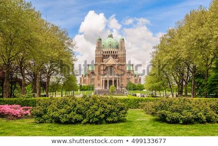 The Basilica of the Sacred Heart (Basilique du Sacre-Coeur) in Paris Stock photo © aladin66