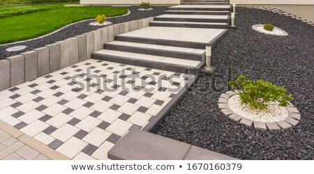 конкретные тротуар текстуры строительство стены аннотация Сток-фото © mycola