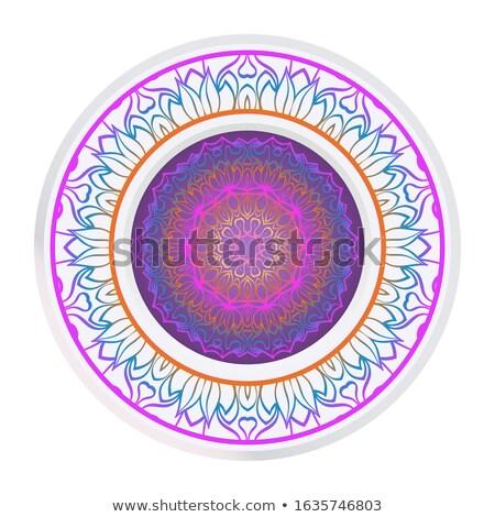 stijlvol · kleurrijk · gelukkig · tekst · ontwerp · vector - stockfoto © bharat