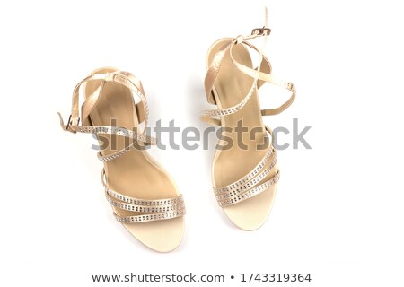 sandals with rhinestones Stock photo © RuslanOmega