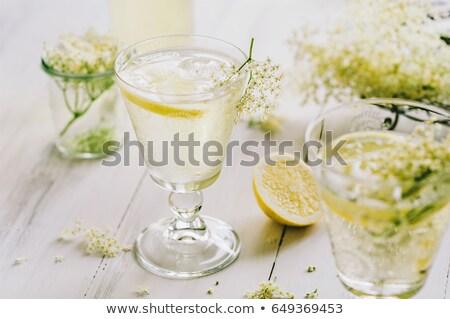 Elderflower juice with lemon Stock photo © mady70