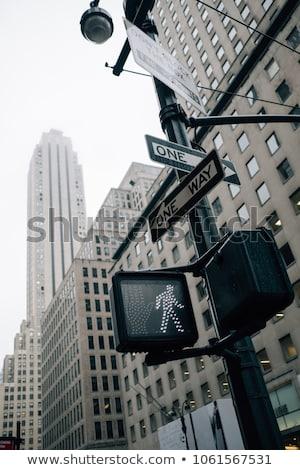 Alulról fotózva kilátás feliratok nyíl szám irányítás Stock fotó © bmonteny