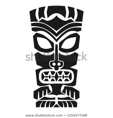 Tiki Masks Stock photo © lenm