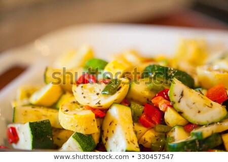 Sauteed squash Stock photo © MSPhotographic