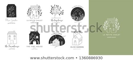 рук мало дома изолированный белый бизнеса Сток-фото © fantazista