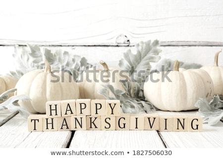 White Pumpkins Stock photo © arenacreative