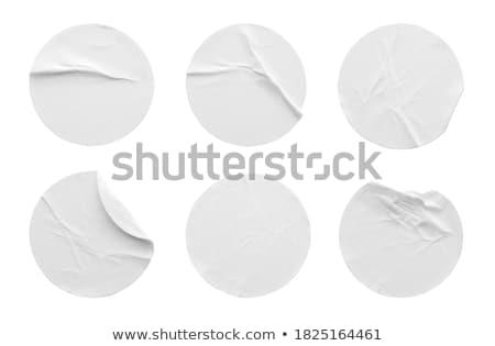 Vel papier plakband schaduw effect Stockfoto © NiroDesign