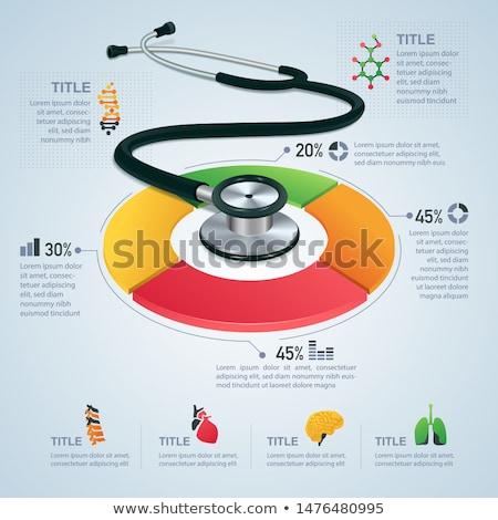 médicos · investigación · descripción · púrpura · médico · enfermera - foto stock © pinnacleanimates
