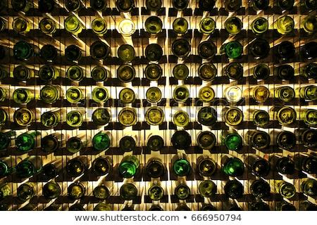 зеленый бутылку вино шампанского белый чистой Сток-фото © shutswis