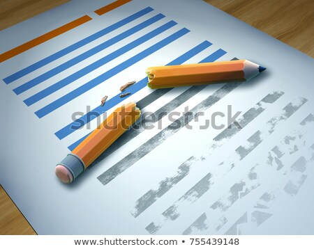 Paragraph sign and crumbling of the law Stock photo © Ustofre9