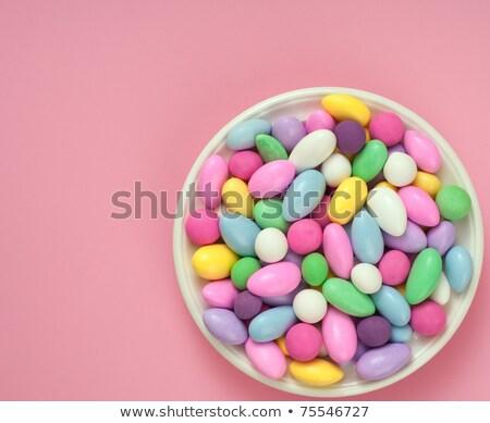 jordan almonds stock photo © laciatek