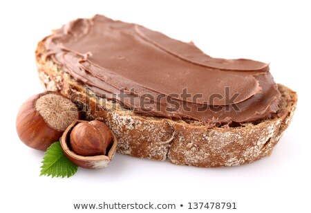 kid and chocolate nut stock photo © zurijeta