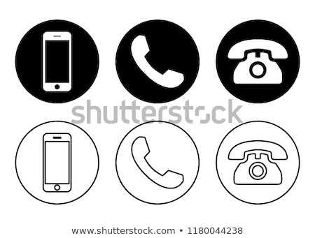 Buttons with telephones Stock photo © bluering