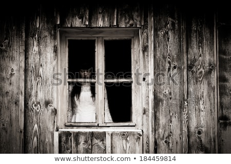 Zombie girl staring Stock photo © BigKnell