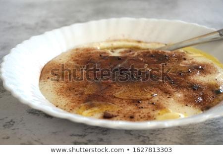 Semolina porridge Stock photo © Digifoodstock