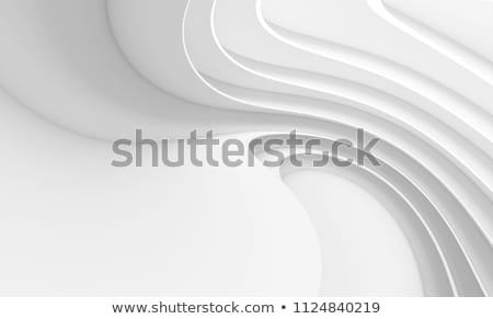 Beyaz dalga arka plan duvar kağıdı temizlemek modern Stok fotoğraf © SArts