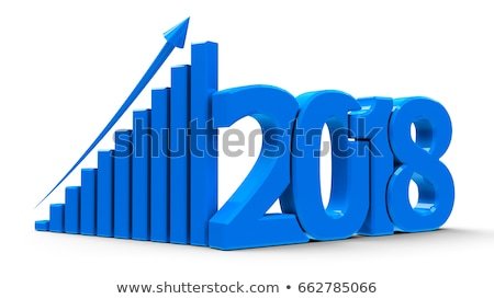 Business graph up with 2018 stock photo © Oakozhan