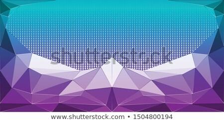 Abstrato baixo azul vermelho amarelo geométrico Foto stock © pakete