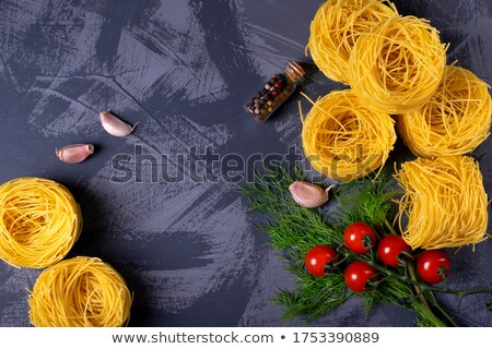 Pasta, Vermicelli Nests Stock photo © monkey_business