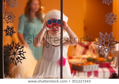 kerstman · christmas · wensen · vrolijk · gelukkig · blijde - stockfoto © popaukropa