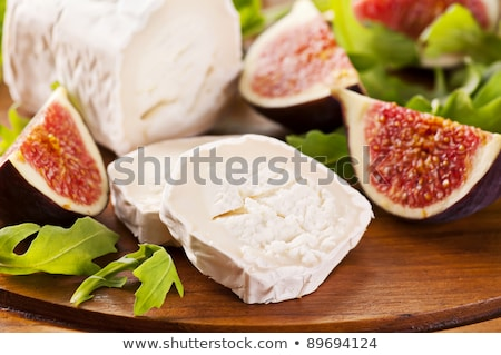 goat cheeses and fruits Stock photo © cynoclub