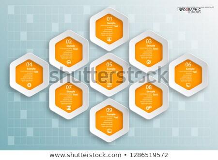 ベクトル · ダイアグラム · マーケティング · 孤立した · 白 · ビジネス - ストックフォト © robuart