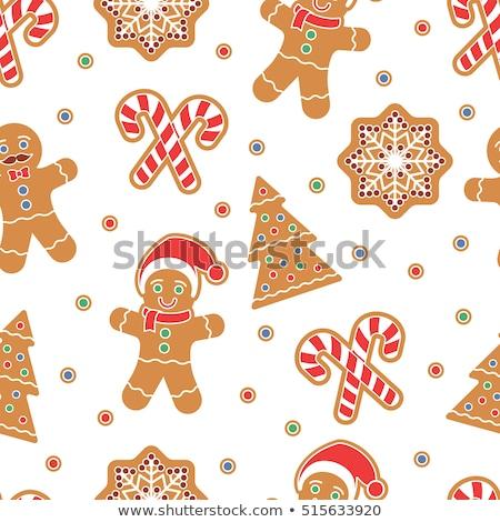 karácsony · gyertya · íj · fagyöngy · alkotóelem · terv - stock fotó © bluering