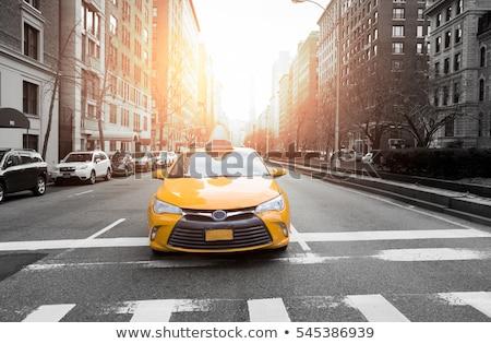 Stadt Leben Stadtbild Ansicht Zeichen Symbol Stock foto © vector1st