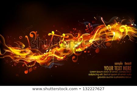 Music Notes Blast Stock photo © alexaldo