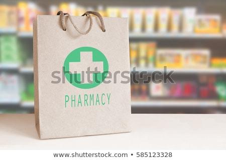 薬局 袋 コンピューターのマウス ストックフォト © devon