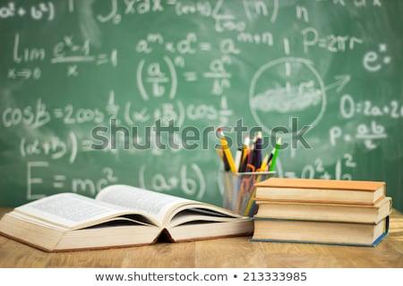 Schüler · Schülerin · Mädchen · Junge · Kinder · Schule - stock foto © robuart