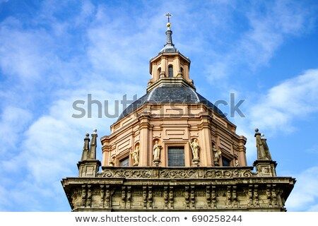 Church of San Andres, Madrid Stock photo © borisb17
