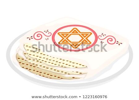 Ekmek bez örnek kullanılmış eğlence tatlı Stok fotoğraf © lenm